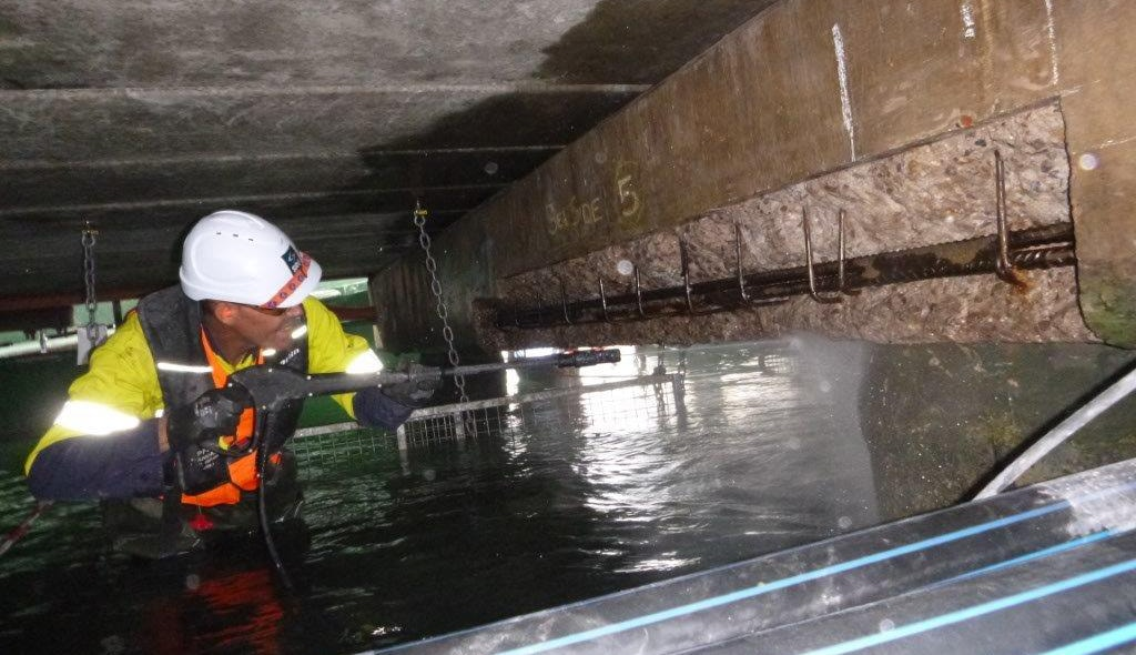 Marine structure maintenance 1